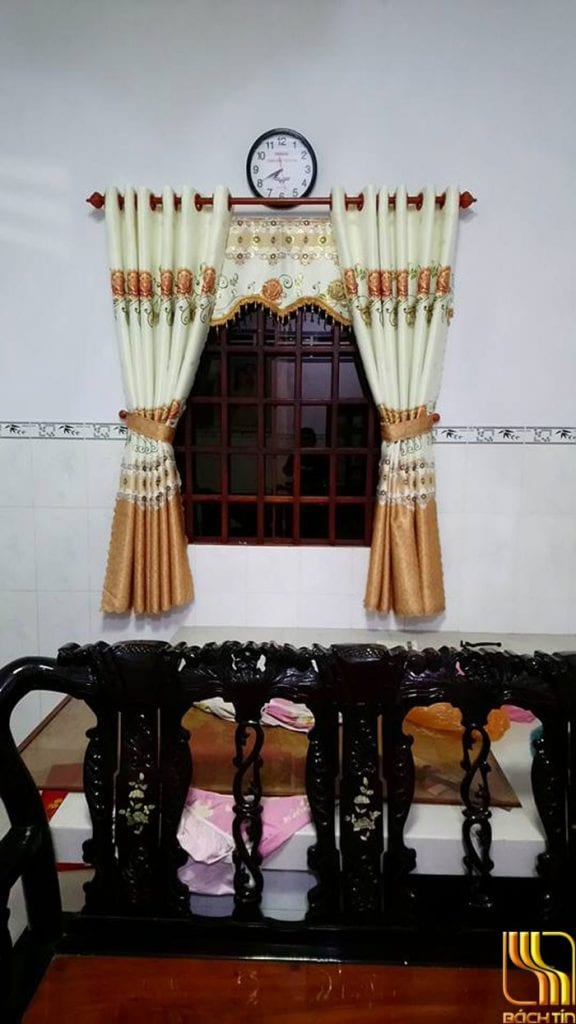 màn rèm hoa văn Đà Nẵng