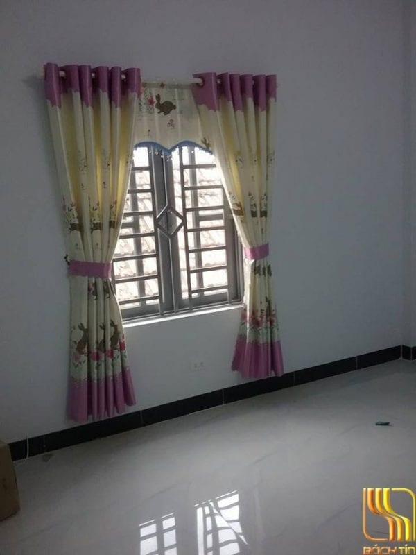 màn rèm màu kem hồng Đà Nẵng