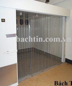 Rèm PVC ngăn thất thoát nhiệt lối đi
