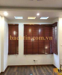 Rèm sáo gỗ cửa sổ đẹp
