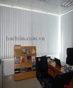 Rèm lá dọc văn phòng màu trắng - Star blinds A330