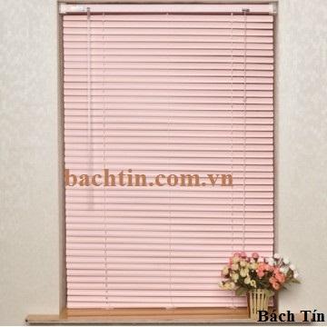 Rèm nhôm màu hồng