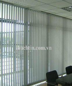 rèm lá dọc văn phòng màu trắng ghi - Star blinds A306