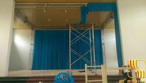 phông rèm hội trường màu bích giá rẻ ở Đà Nẵng