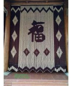 rèm mành hạt gỗ