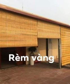rèm tre màu vàng tại Đà Nẵng