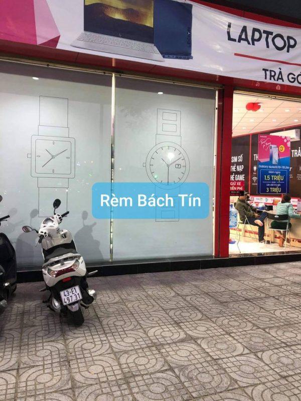 rèm cuốn lắp tại FPT SHOP Đà Nẵng - rèm bách tín
