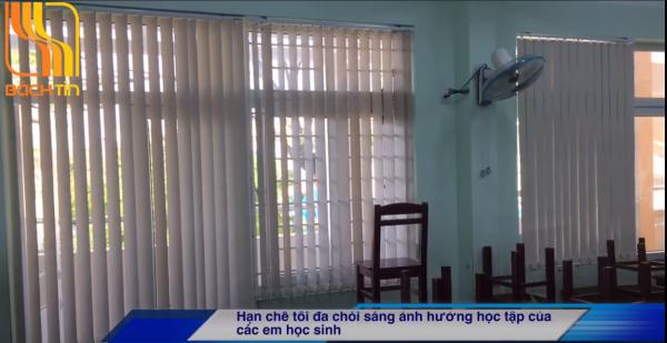 Lắp Rèm lá dọc cho trường tiểu học Tây Sơn – Đà Nẵng